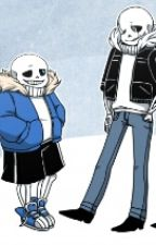 Gaster! Sans Vs Sans X  Cat! Reader | Cant Spell Us Without U by WonderSans