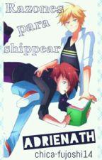 Razones Para Shippear AdrieNath by OppaDameDuro14