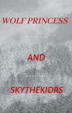 The Wolf Princess and SkythekidRS by Moofia409