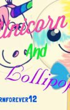 Unicorn and Lollipop by unicornforever12