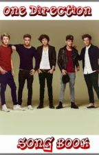 One Direction Song Book by 1Dluvahgirl1188