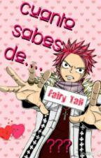 Cuanto Sabes De Fairy Tail????? by aii-chan