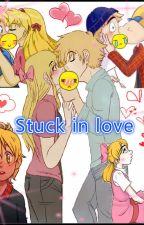 Stuck in love (Arnold y Helga) by CamilaNiwa