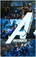 Los Vengadores: Preferencias by AngieMaximoff
