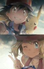 Ash Y Serena by Espectro9