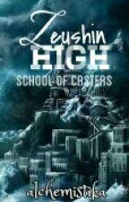 Zeushin High School of Casters by alchemistika