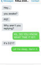 HxH Conversations by Killua__Zldyck