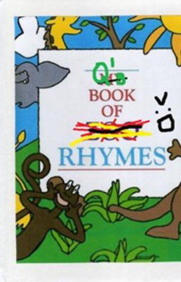 My Book of Rhymes...
