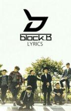 블락비 (BlOCK B) Lyrics by Tsubakyu