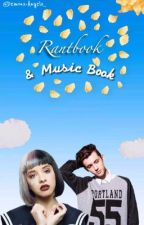 Rant Book & Music Book by Demons-Angels_