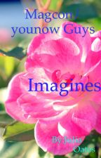 Magcon/younow guys imagines  by Juliaoates
