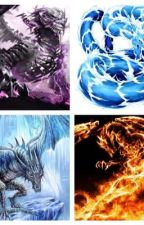 The Four Dragon Gods by ReaperHackerWolf12