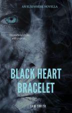 Elsewhere: Black Heart Bracelet by Pixee_Styx