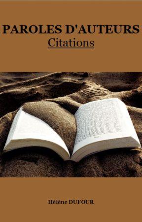 Paroles d'auteurs-Citations by Miss-LN