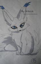 My Artbook by choclatecoveredbunny