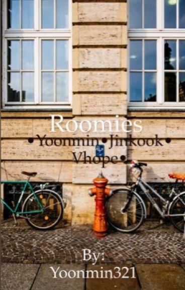 Roomies•3 in 1•Yoonmin/Jinkook/Vhope•