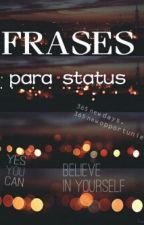 Frases Para Status  by ShadowHunterWolfie