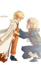 Fourth Hokage and Son by KaylaTaylor755