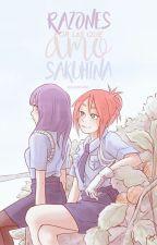Razones Por Las Que Amo SakuHina by -BlueSenpai-