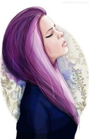девушки с фиолетовыми волосами картинки