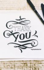 Thank You by beautflwst