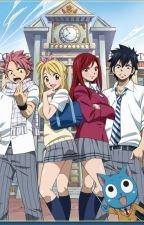 Natsu x Reader High School by llama_356