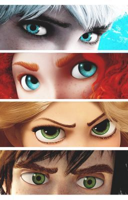 The Big Four Fanfiction // Jack Frost, Merida, Rapunzel and Hiccup