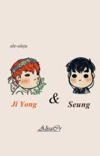 JiYong & SeungHyun. by ale-aleju