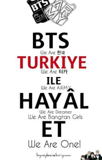 BTS ile HAYAL ET |Fanfic & Dream|