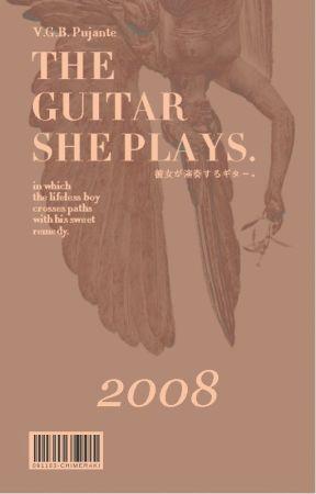 『the guitar she plays.』 by -BLACKSCOTCHI