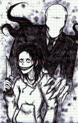Night before absence [Slenderman x Jeff the Killer Lemon