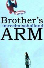 Brother's arm |Peter Parker × Bucky Barnes| by imreelmissholland