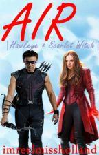 Air |Hawkeye × Scarlet Witch| by imreelmissholland