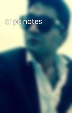 crpc law notes