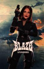 BLAZE → BUCKY BARNES ; T'CHALLA UDAKU [2] by captainlehnsherr