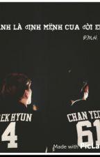 [SHORTFIC] [HE] [ChanBaek] Anh Là Định Mệnh Của Đời Em. by Galerfic_MinHyun