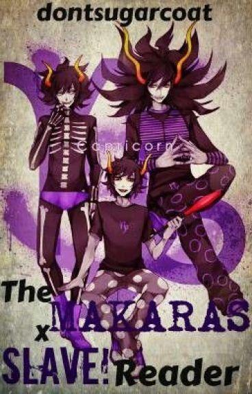 The Makaras X Slave! reader (homestuck) [FINISHED!]