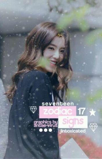 zodiac signs → seventeen