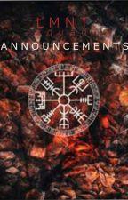 ۞ Announcements by LMNTsquad