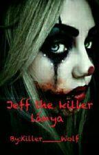 Jeff The killer Lánya  by Killer____Wolf