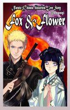 Fox And Flower by nanaanayi