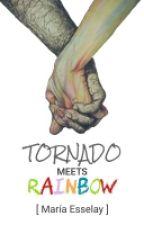 Tornado Meets Rainbow by coffeereaderss