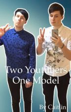 Two Youtubers, One model  by caitlin20202020