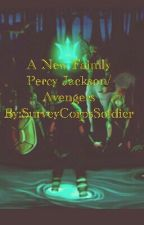 A New Family(Percy Jackson/Avenger's)  by SurveyCorpsSoldier