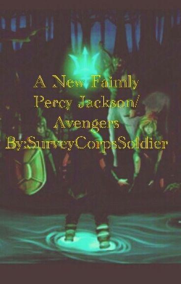 A New Family(Percy Jackson/Avenger's)