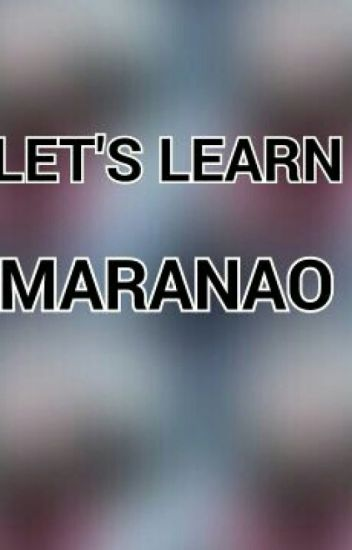 Let's Learn Maranao - BTS - Wattpad