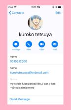 KnB x Reader x PoS  「My Stride & Basketball Life」|DISCONTINUED|  by Typical_Asian_Nerd