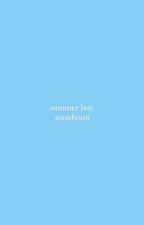 summer boy - soonhoon by woozistic