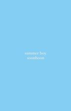 summer boy - soonhoon by woozistic