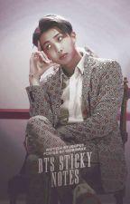 [C] BTS Sticky Notes » Kim Namjoon « by jdopes
